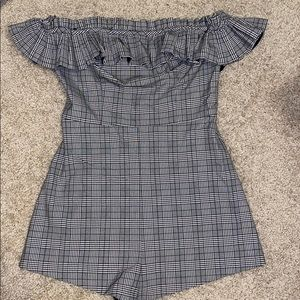Urban Outfitters Pants & Jumpsuits - NWT urban outfitters plaid romper